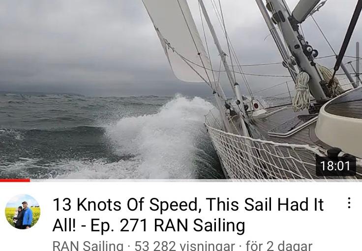 RAN sailing, Sailing UMA och Sailing Monkii – tre intressanta bloggar påYoutube